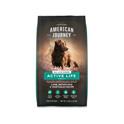 American Journey Lamb & Brown Rice Recipe Dry Dog Food, 4...
