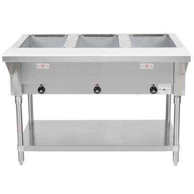 Advance Tabco HF-3E-240 Three Pan Electric Steam Table wi...