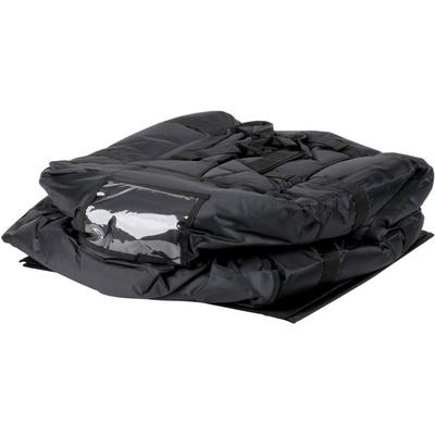 ServIt Insulated Pizza Delivery Bag, Black Soft-Sided Hea...
