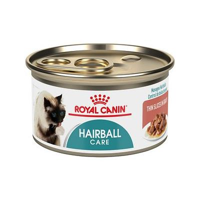 Royal Canin Hairball Care Thin Slices in Gravy Canned Cat...