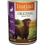 Instinct by Nature's Variety Grain-Free Rabbit Formula Canned Dog Food, 13.2-oz, case of 6
