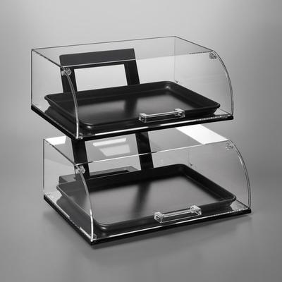 Vollrath ANBCF-06 Cubic Two Tier Full Size Angled Acrylic...