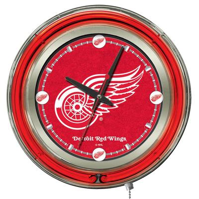 "Holland Bar Stool Clk15DetRed Detroit Red Wings 15"" Neon ..."