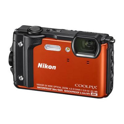 Nikon COOLPIX W300 Digital Camera (Orange) 26524