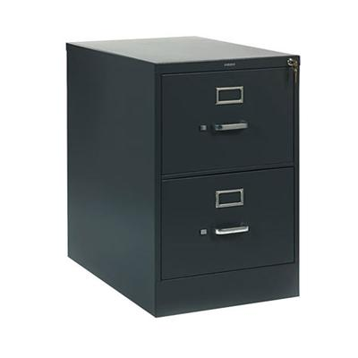 HON 312CPS 310 Series Charcoal Full-Suspension Two-Drawer...