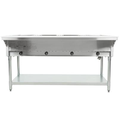 Eagle Group HT4 Natural Gas Steam Table Four Pan 14,000 B...