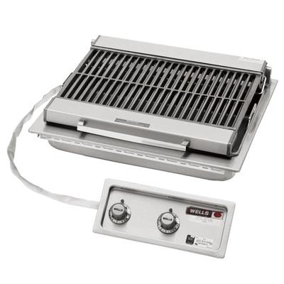 "Wells B-406 24"" Built-In Electric Charbroiler with Two Co..."