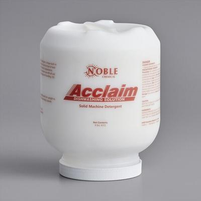 Noble Chemical Acclaim 8 lb. / 128 oz. Solid Dish Machine...