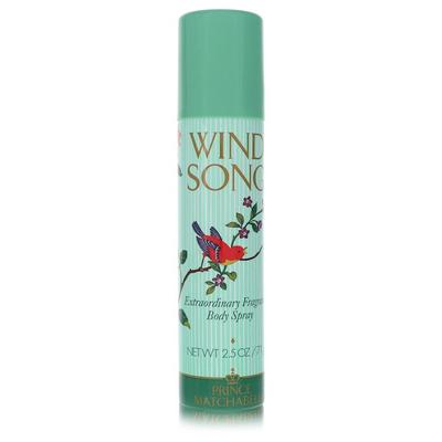 Wind Song For Women By Prince Matchabelli Deodorant Spray...