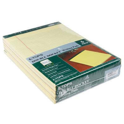 "Tops 63376 Double Docket 8 1/2"" x 11 3/4"" Narrow Ruled Ca..."