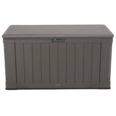Lifetime 60089 Brown 116 Gallon Outdoor Storage Box