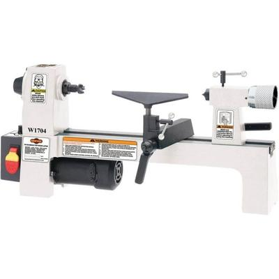 Shop Fox Hand Tools 8in x 13in Benchtop Wood Lathe W1704
