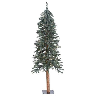 "Vickerman 427651 - 5' x 25"" Natural Bark Alpine Tree with..."