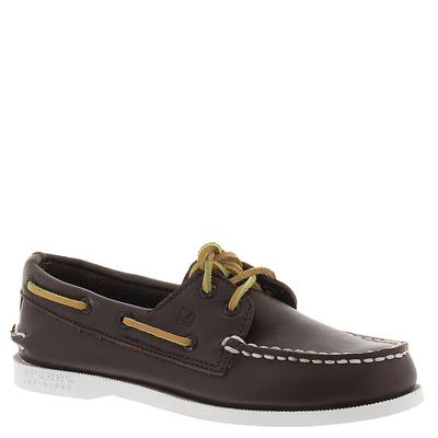 Sperry Top-Sider A/O - 6 Youth Brown Slip On Medium