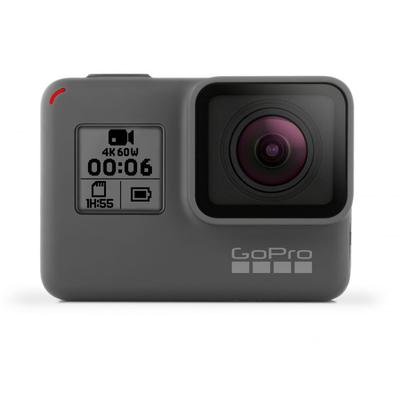 GoPro Action Cameras Hero 6 Black 12MP Action Camera w/To...