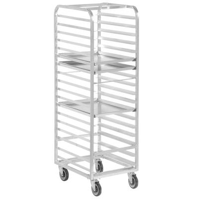 Channel WA03 18 Pan Front Load Aluminum Walk-In Bun / Sheet Pan Rack - Assembled