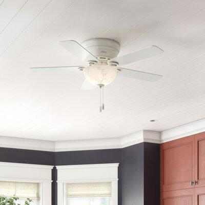 "Hunter 42"" Conroy 5-Blade Ceiling Fan 5102 Finish: Snow W..."