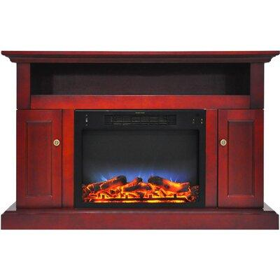 Finish: Cherry Alcott Hill Broncho TV Stand for TVs up to 50\