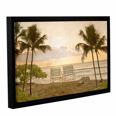 Bay Isle Home Two at the Beach Framed Photographic Print ...