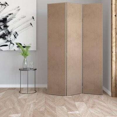 "Darby Home Co Rohon 72"" x 49"" Screen 3 Panel Room Divider..."