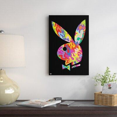 East Urban Home Playboy Graphic Art on Wrapped Canvas ESH...