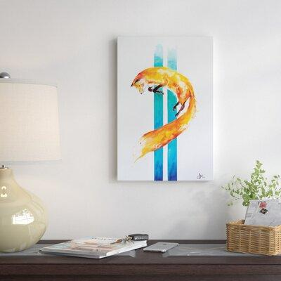 East Urban Home 'As Above, so Below' Painting Print on Wr...