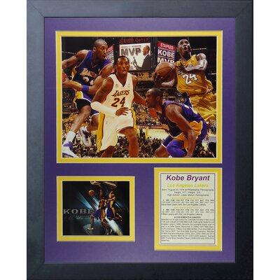 Legends Never Die Kobe Bryant Collage Framed Memorabilia ...