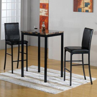 Hazelwood Home 3 Piece Bistro Set HMC2116