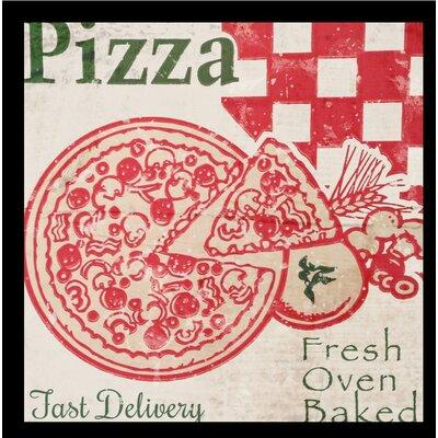 Buy Art For Less 'Pizza Box' Framed Vintage Advertisement...