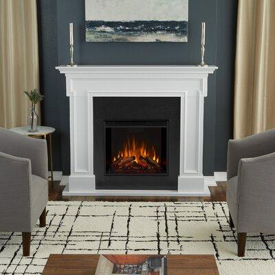 Real Flame Thayer Electric Fireplace 5010E-W Finish: White