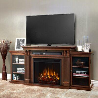 """Real Flame Cali 67"""" TV Stand with Fireplace 7720E-DE / 77..."""