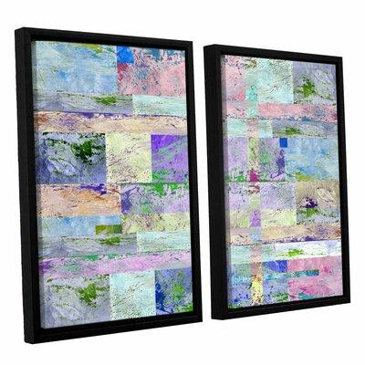 ArtWall 'Abstract I' by Greg Simanson 2 Piece Framed Grap...