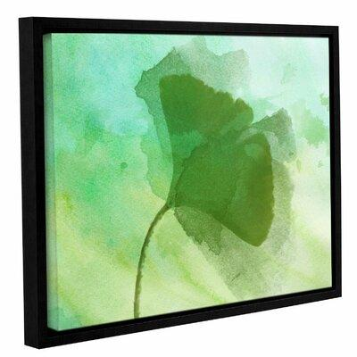 Latitude Run 'Summer Leaf III' Framed Print on Canvas LTD...