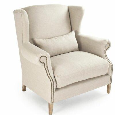 One Allium Way Eira Half Wingback Chair ONAW3810