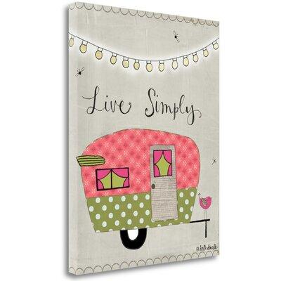 Tangletow Simple Camper' Graphic Art Print on Canvas SBKA...