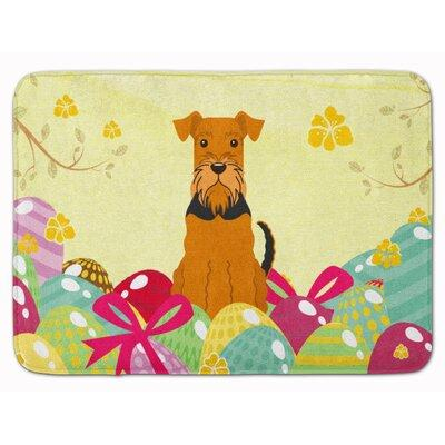 The Holiday Aisle Easter Eggs Airedale Memory Foam Bath R...