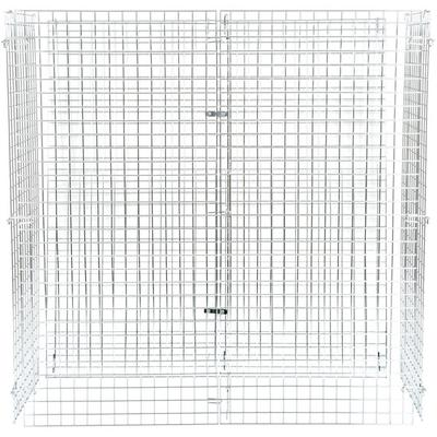 "Wire Security Cage - 24"" x 60"" x 63"""