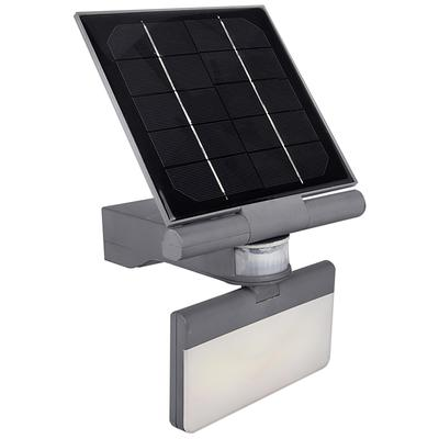 """Universal Lighting Pacific Accents 7""""H Gray Solar LED Out..."""