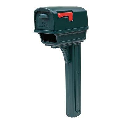 Gibraltar Mailboxes Gentry Mailbox with Post Included GGC...