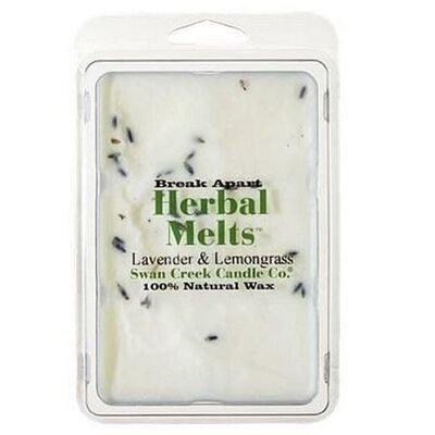 Swan Creek Candle Drizzle Lavender & Lemongrass Scented W...