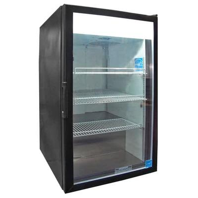 CTM-7HC 21.25 Countertop Refrigerator w/ Front Access - Swing Door, Black, 115v