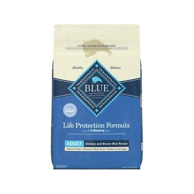 Blue Buffalo Life Protection Formula Adult Chicken & Brown Rice Recipe Dry Dog Food, 24-lb bag