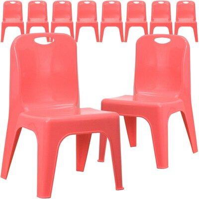 """FLASH Furniture Stackable 11.25"""" Plastic Classroom Chair ..."""