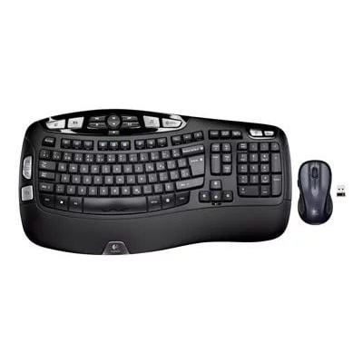 Logitech Wireless Wave Combo MK550 - keyboard and mouse s...