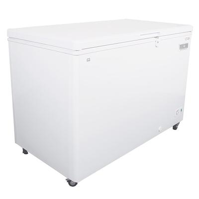 Kelvinator Commercial KCCF140WH 51.75 Mobile Chest Freezer w/ Wire Storage Basket - White, 115v