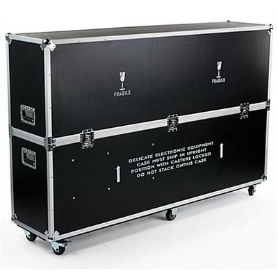 Displays2go Flat Screen TV Case for Transporting & Protec...
