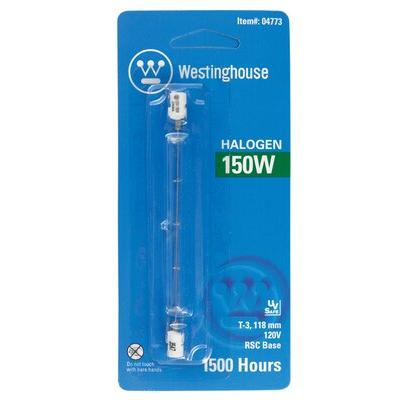 Westinghouse Lighting 150W RSC Dimmable Halogen Edison Tube Light Bulb 4773