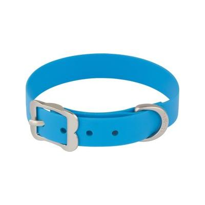 Red Dingo Vivid PVC Dog Collar, Blue, XX-Small ; Take your pup on all kinds of adventures with the Red Dingo Vivid PVC Dog Collar. It might be hard to clean a wet, muddy dog, but this waterproof collar is easy to wipe clean and won't retain any smelly...