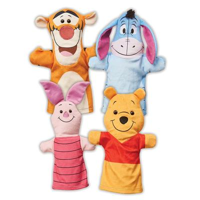 Winnie the Pooh Soft Hand Puppets by Melissa & Doug, Multicolor