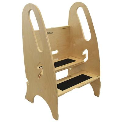 Little Partners 3-in-1 Growing Step Stool, Multicolor
